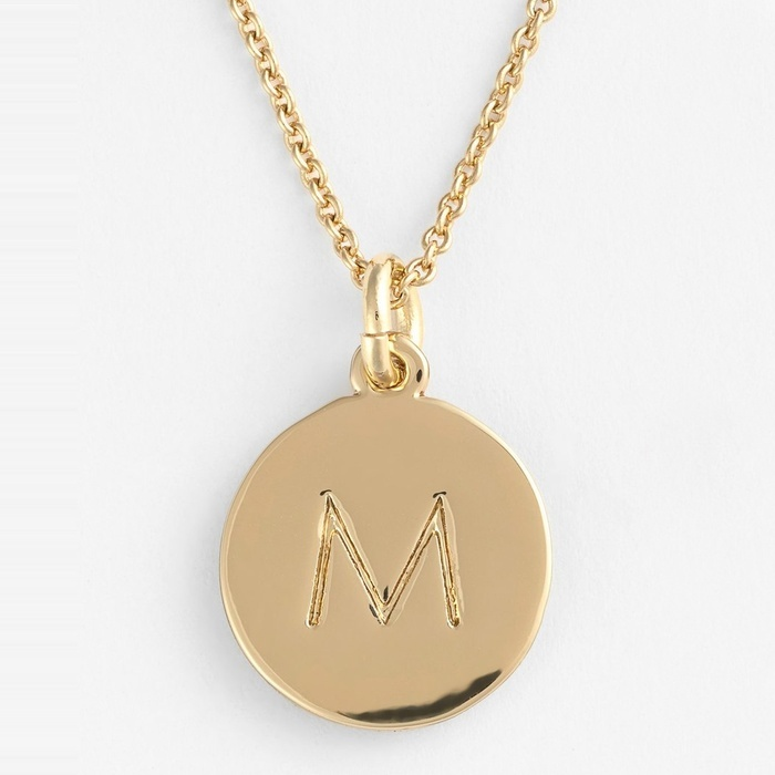 Best Personalized Gifts - Kate Spade New York one in a million Initial Pendant Necklace