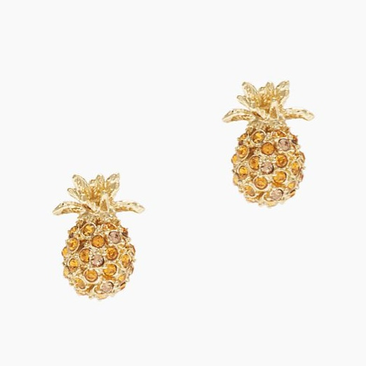 Best It's Raining Pineapples - Kate Spade New York Pineapple Grove Studs