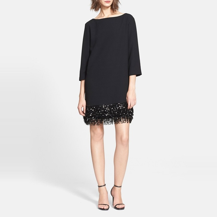 Best Little Black Dresses - Kate Spade New York Sequin Fringe Minidress
