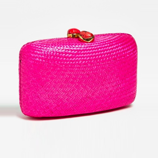 Best Summer Clutches - Kayu Jen Straw Minaudiere
