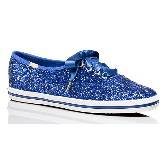 Best Something Blue Ideas - Keds For Kate Spade New York Glitter Sneakers