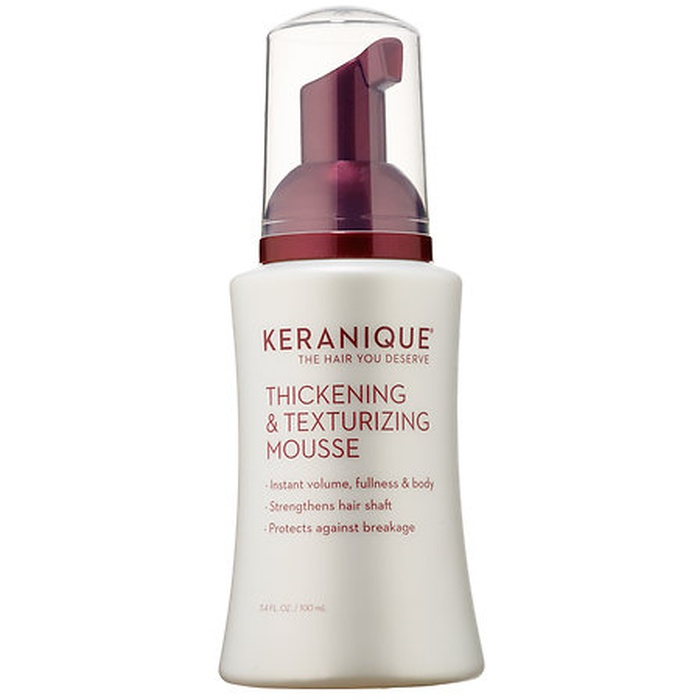 Best Hair Loss Treatments for Women - Keranique Thickening and Texturing Mousse
