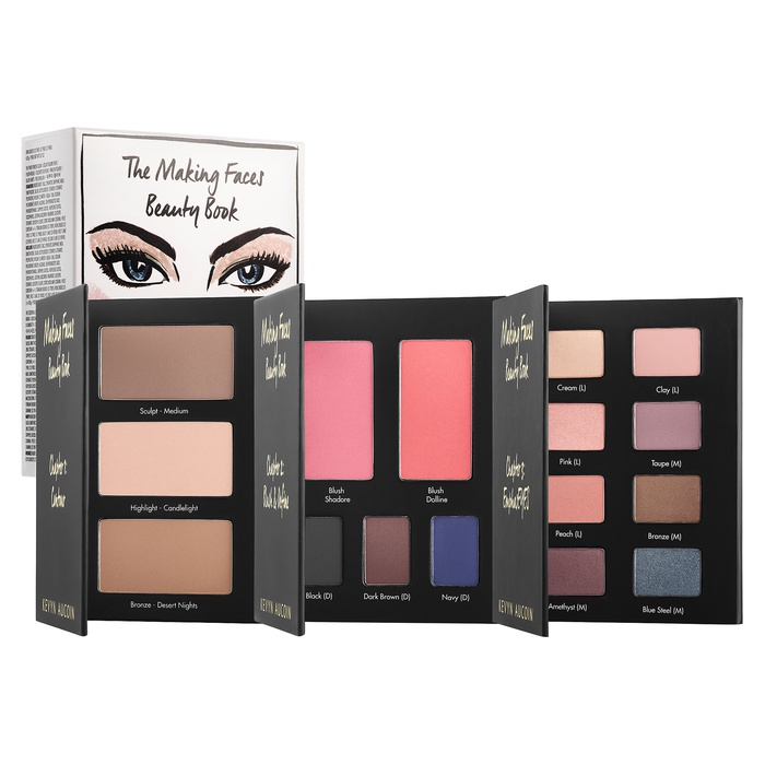 Best Face Palettes - Kevyn Aucoin The Making Faces Beauty Book