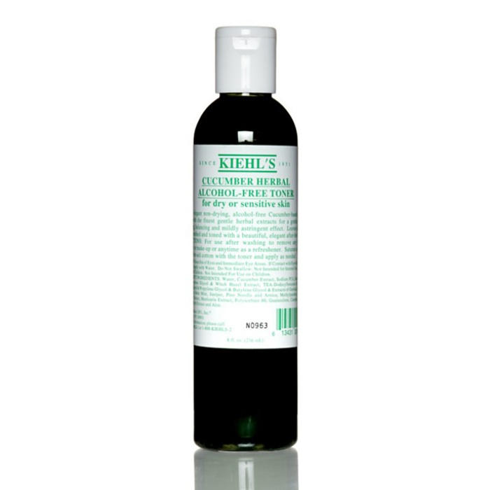 Best Toners For Combination Skin - Kiehl's Cucumber Herbal Alcohol-Free Toner
