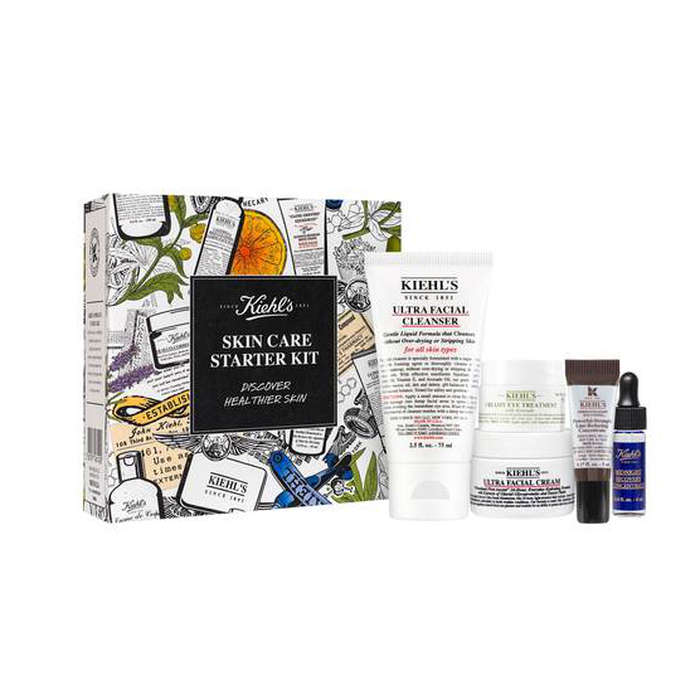 Best Skincare Gift Sets - Kiehl's Healthy Skin Essentials Starter Kit