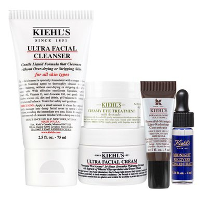 Best Mother's Day Gift Ideas - Kiehl's Since 1851 Healthy Skin Essentials Starter Kit
