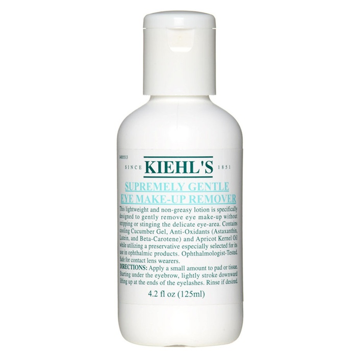 Best Eye Makeup Removers - Kiehl's Since 1851 Supremely Gentle Eye Makeup Remover