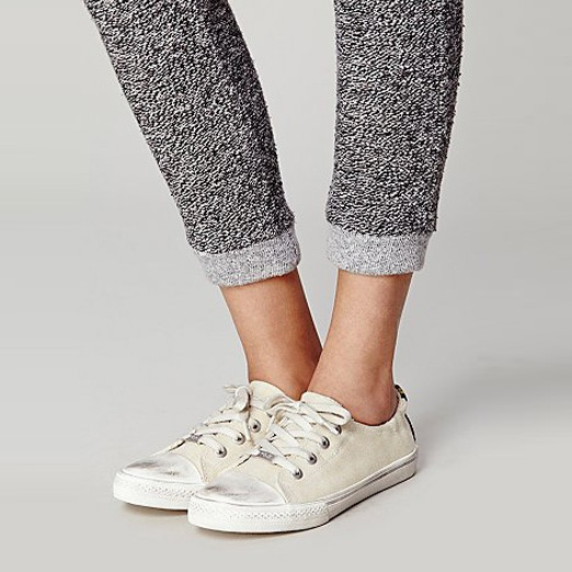 Best Stylish White Sneakers - Kim & Zozi Carter Lace up Sneakers