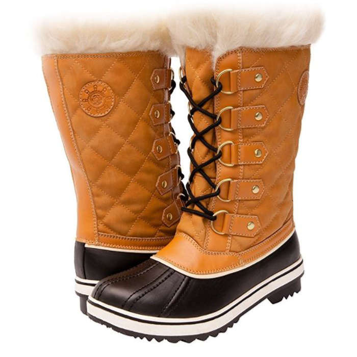 Best Gifts Under $50 on Amazon - Kingshow Globalwin Waterproof Winter Boots