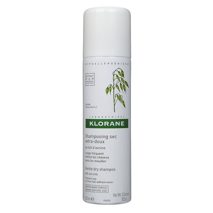 Best Dry Shampoos - Klorane Gentle Dry Shampoo with Oat Milk