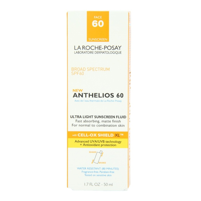 Best Daily Use Face Suncreens - La Roche-Posay Anthelios 60 Ultra Light Sunscreen Fluid for Face