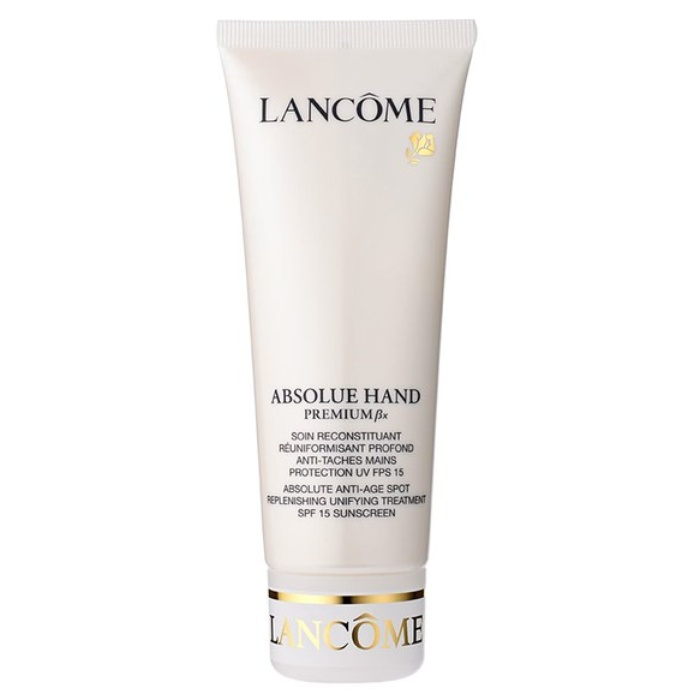 Best Anti-Aging Hand Creams - Lancôme Absolue Hand Sunscreen