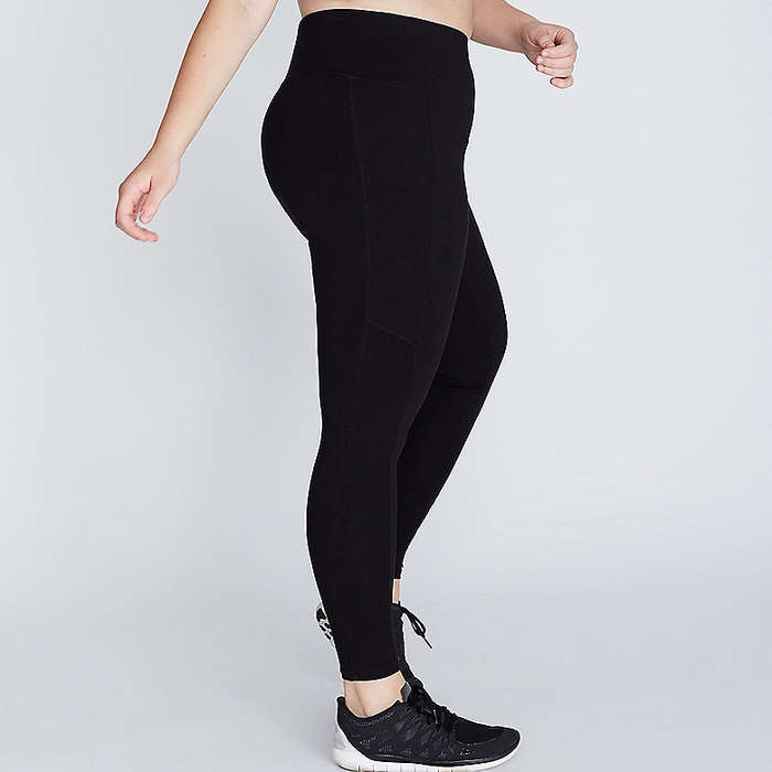 Best Plus Size and Curve Leggings - Lane Bryant Control Tech Smoothing Active Legging