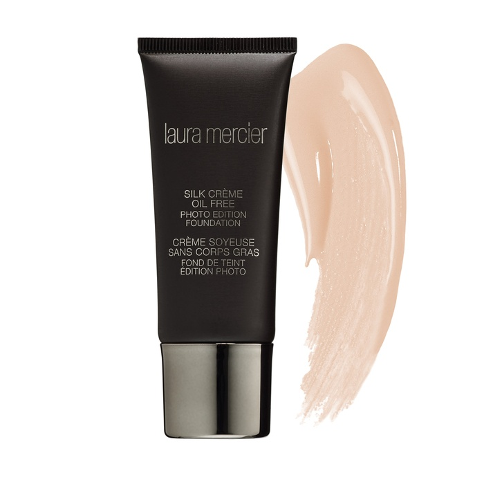 Best Oil-Free Foundations For Summer - Laura Mercier Silk Crème Oil Free Photo Edition Foundation
