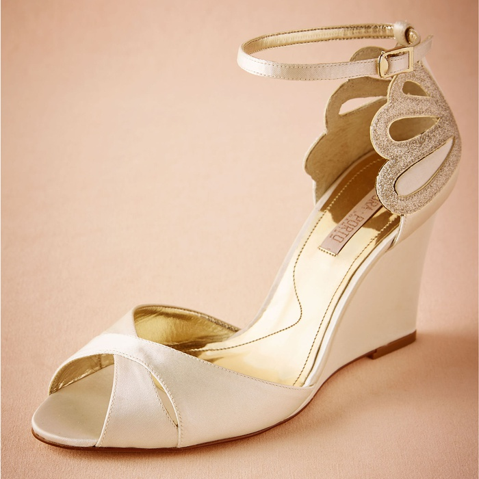 Best Bridal Wedges - Laura Porto De Mer Wedges