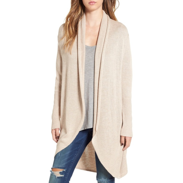 Leith Shawl-Collar Cocoon Cardigan | Rank & Style