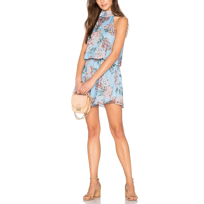 Best Summer Wedding Guest Dresses Under $150 - Line & Dot Rudi Halter Dress