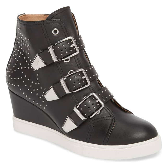 302480a98f1 Linea Paolo Fawn Wedge Sneaker