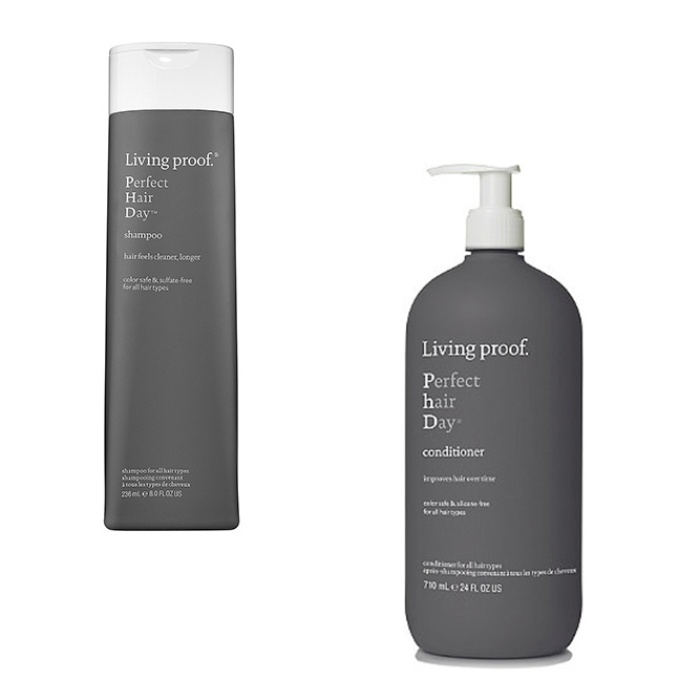 Best The season's best anti-frizz products - Living Proof Perfect Hair Day Shampoo and Perfect Hair Day (PhD) Conditioner