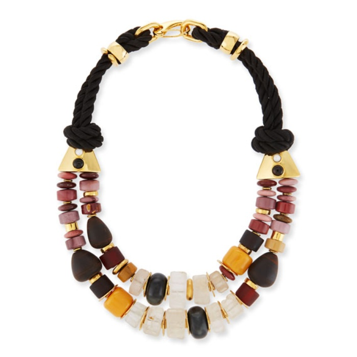 Best Fall Accessories - Lizzie Fortunato Paloma Braided Rope Necklace