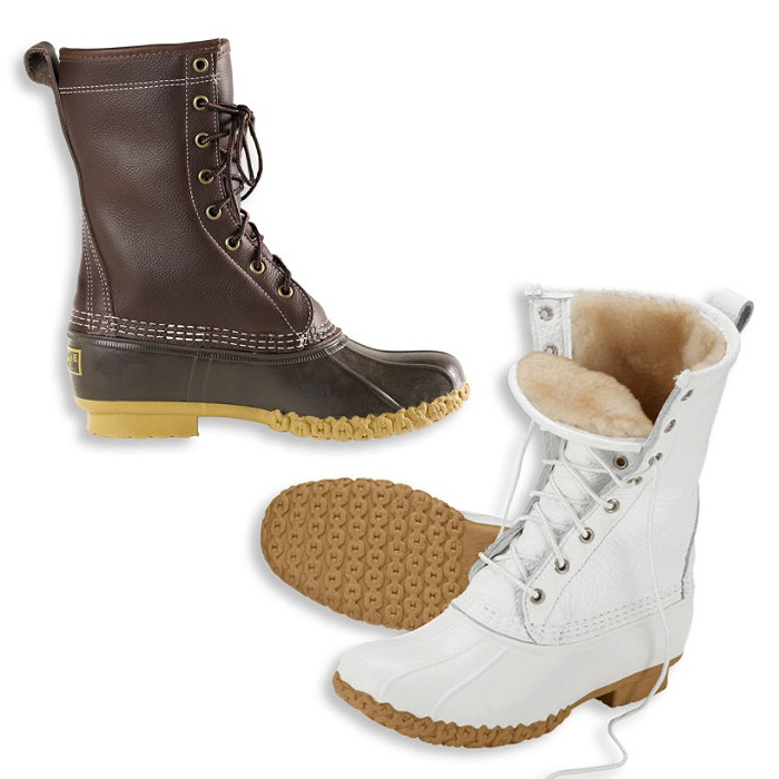 "Best Snow Boots to Gift - L.L.Bean Women's Bean Boots, 10"" Shearling-Lined"