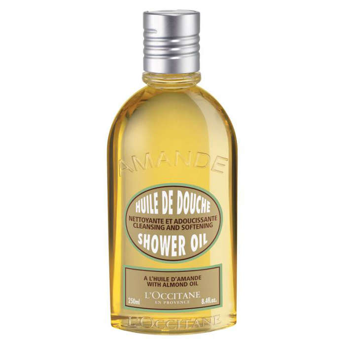 Best Moisturizing Body Washes - L'Occitane L'Occitane Cleansing And Softening Shower Oil With Almond Oil