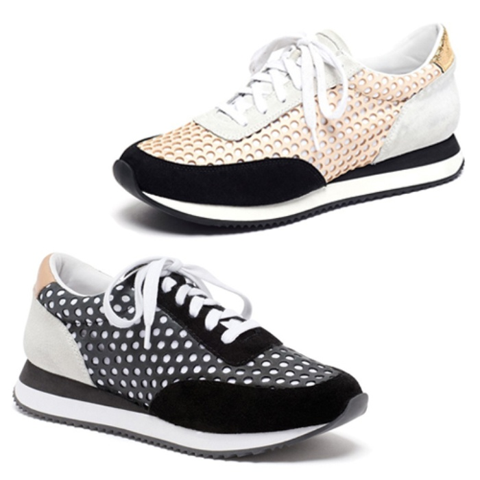 Best Fashion Sneakers Under $150 - Loeffler Randall Rio Perforated Fashion Sneaker