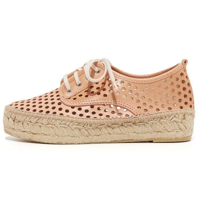 Best Nude Shoes For Summer - Loeffler Randall Alfie Platform Espadrilles