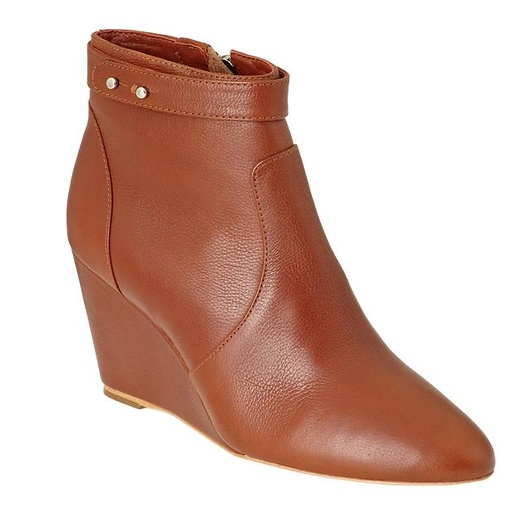 Best Brown Ankle Boots - Loeffler Randall Silvi Wedge Bootie