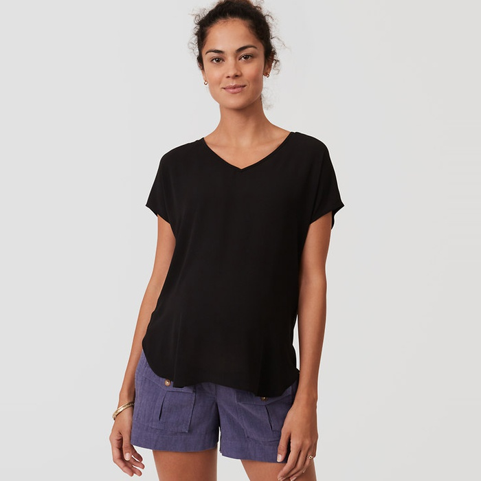 Best Maternity Shorts - Loft Maternity Safari Shorts