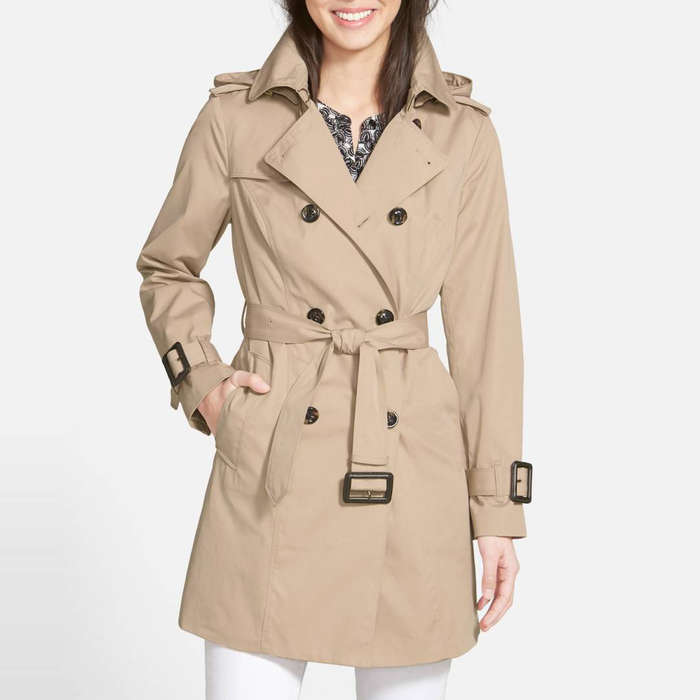 Best Trench Coats - London Fog Heritage Trench Coat with Detachable Liner