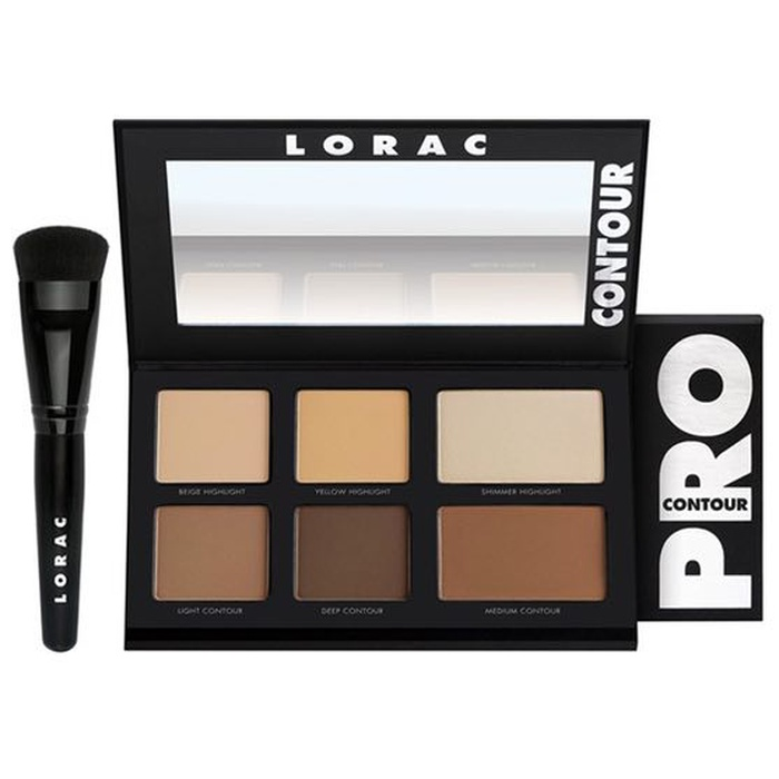 Best Travel Beauty Kits - Lorac Pro Contour Palette & Brush