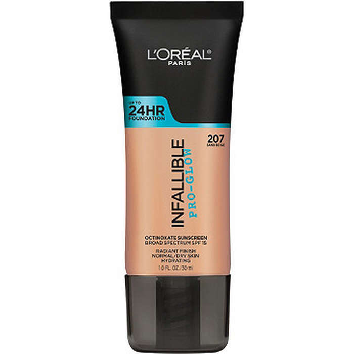 Best Drugstore Foundations - L'Oreal Infallible Pro-Glow Foundation