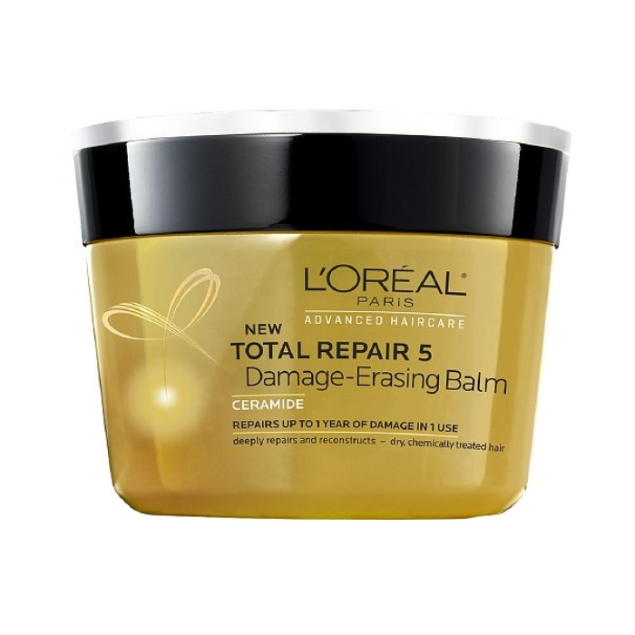 Best Drugstore Hair Products - L'Oreal Paris Advanced Haircare Total Repair 5 Damage Erasing Balm