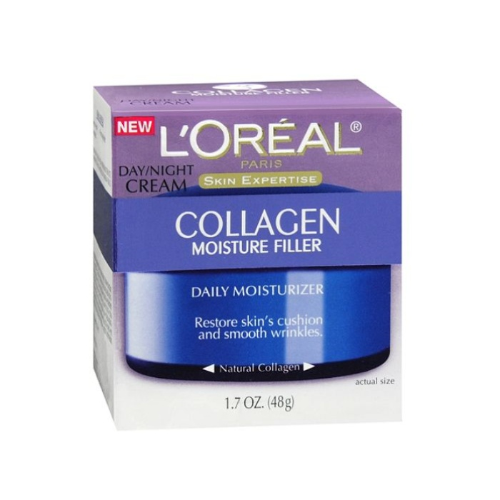 Best Drugstore Night Creams - L'Oreal Paris Collagen Moisture Filler Day/Night Cream