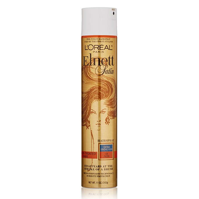 Best Products For Color Treated Hair - L'Oreal Paris Elnett Satin Extra Strong Hold Hairspray