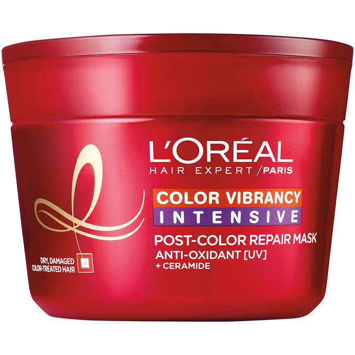 Best Products For Color Treated Hair - L'Oreal Paris Elvive Color Vibrancy Repair and Protect Balm