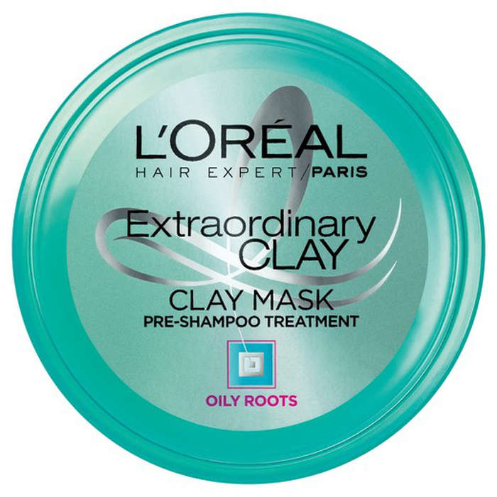 Best Pre-Shampoo Treatments - L'Oreal Paris Hair Expert Extraordinary Clay Mask Pre Shampoo Treatment