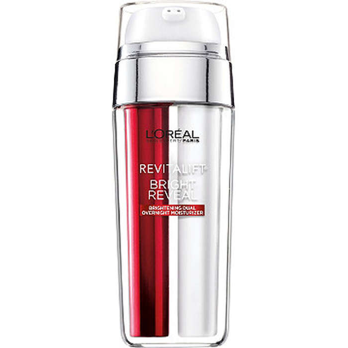Best Drugstore Face Moisturizers - L'Oreal Paris Revitalift Bright Reveal Brightening Dual Overnight Moisturizer