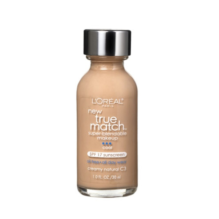 Best Oil-Free Foundations For Summer - L'Oreal True Match Super Blendable Makeup
