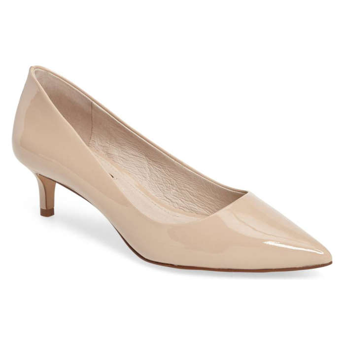 Best Kitten Heels - Louise et Cie Jacoba Kitten Heel Pump