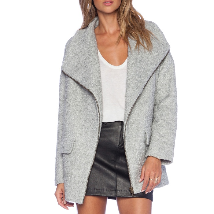 Best Wool Coats Under $500 - Lovers + Friends x Revolve Merci Coat