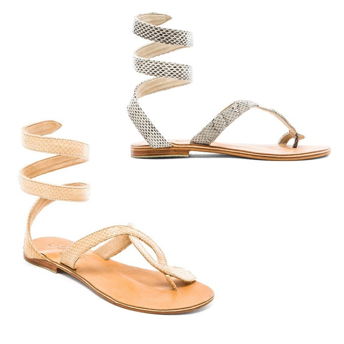 Best Gladiator Sandals Under $200 - L*SPACE by Cocobelle Snake Wrap Sandal