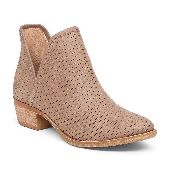 Best Booties On Sale - Lucky Brand Bashina Perforated Bootie