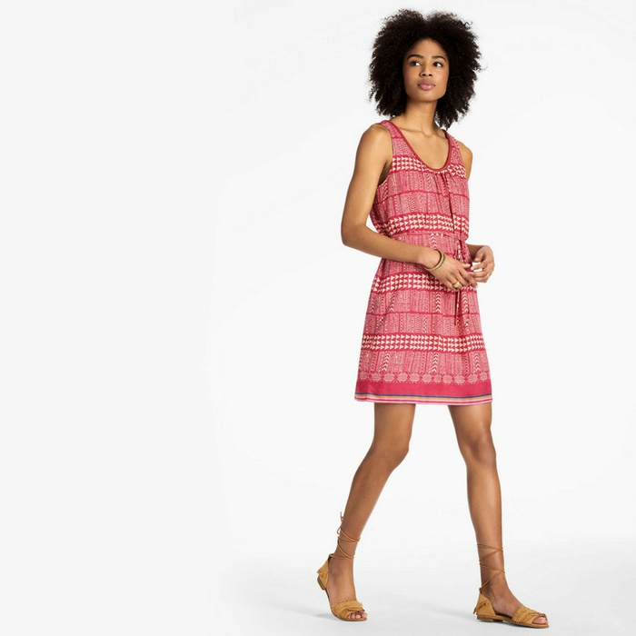 Best Buys From Lucky's Sale - Lucky Brand Geo Print Dress