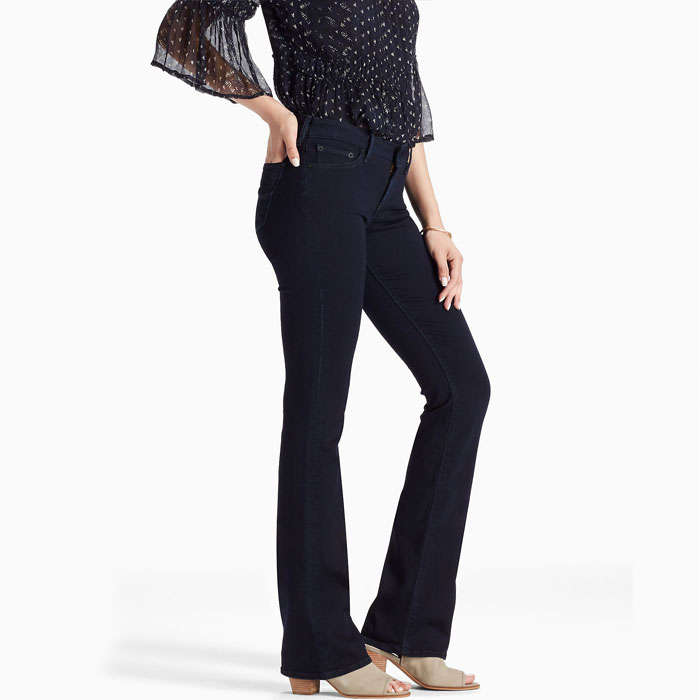 Best Lucky Brand Fall Fashion Finds - Lucky Brand Lolita Mid Rise Bootcut Jean In Hemp Hill
