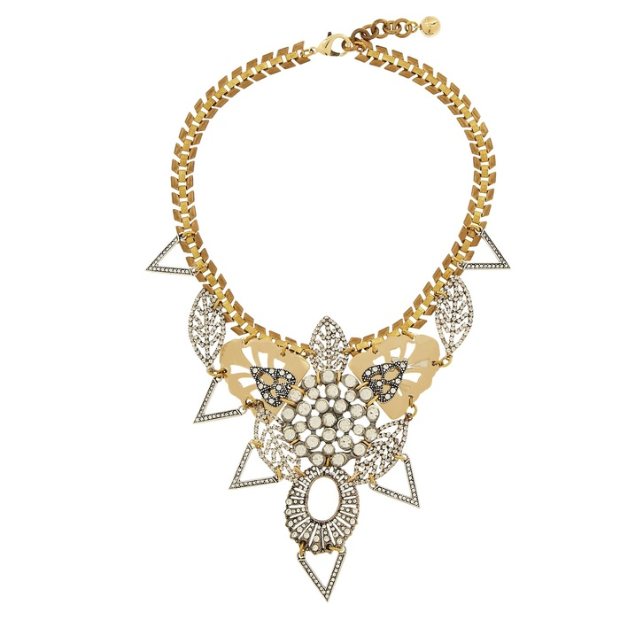 Best Crystal Statement Necklaces - Lulu Frost Gold-Plated Swarovski Crystal Necklace