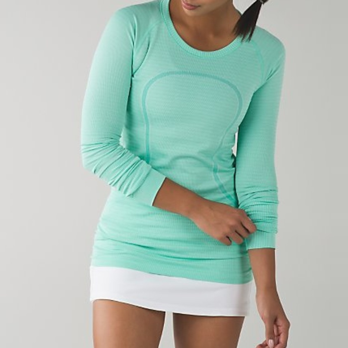 Best Cold Weather Workout Tops - lululemon Swiftly Tech Long Sleeve Crew