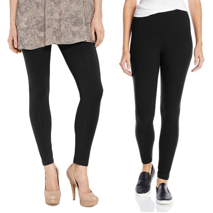 Best Black Leggings - Lyssé Leggings Tight Ankle and Control Top Leggings