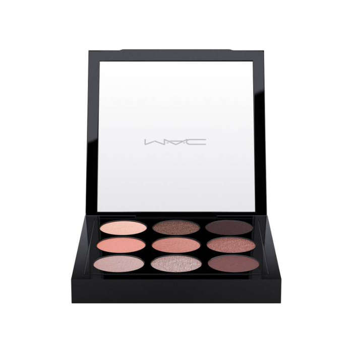 Best Rose Gold Eyeshadow Palettes - MAC Dusky Rose Times Nine Eyeshadow Palette